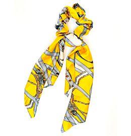 Scrunchie Dress Summer Yellow