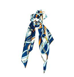 Scrunchie Dress Summer Blue