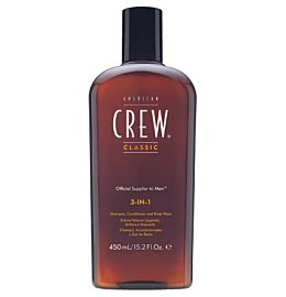 3in1 shampoo, conditioner & body wash 450ml