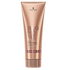 BlondMe Tone Enhancing Bonding Warm Shampoo 250ml