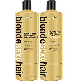 Blonde Shampoo og Conditioner Liter DUO